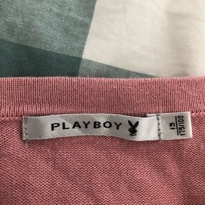PLAYBOY Tops - strawberry playboy tank with tassle